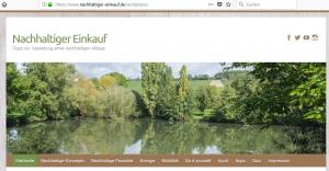 ssl-verschlüsselte Seite nachhaltiger-einkauf.de